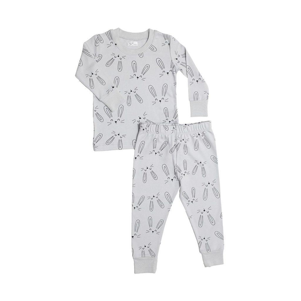 Bunny Gray Pajamas
