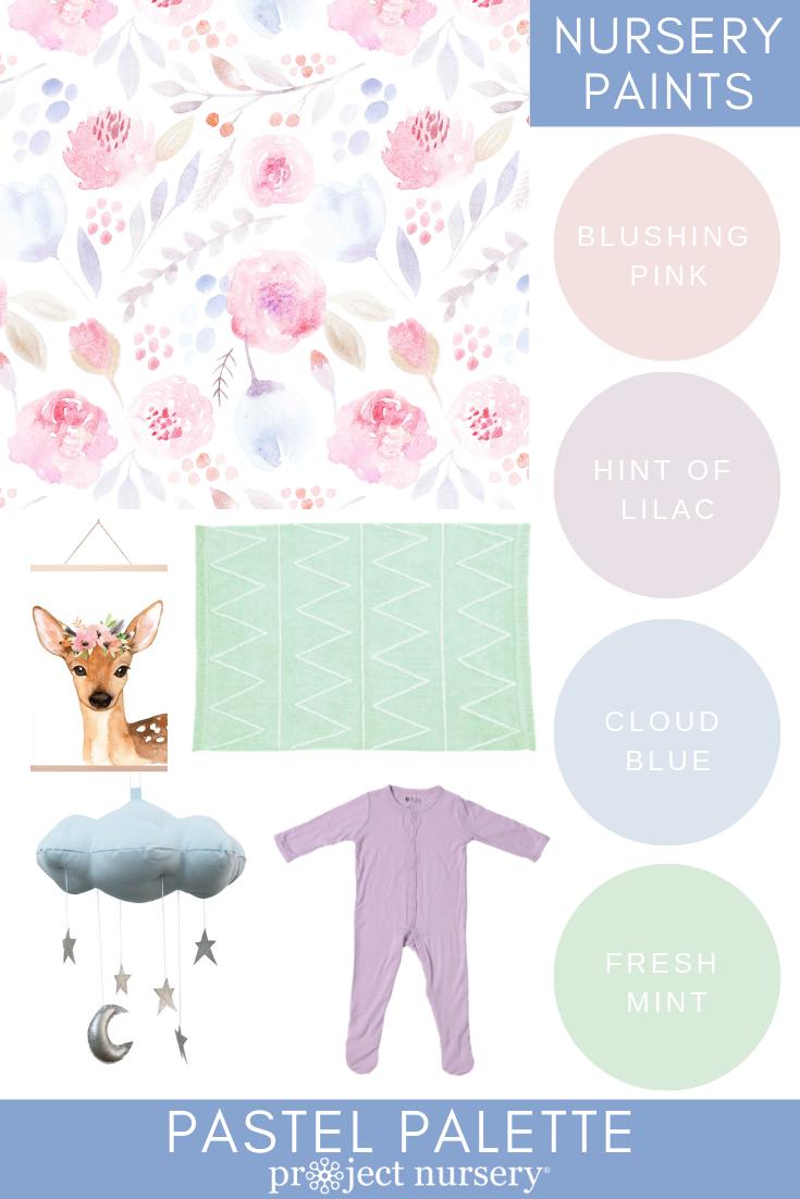 Project Nursery Paint Collection - Pastel Palette