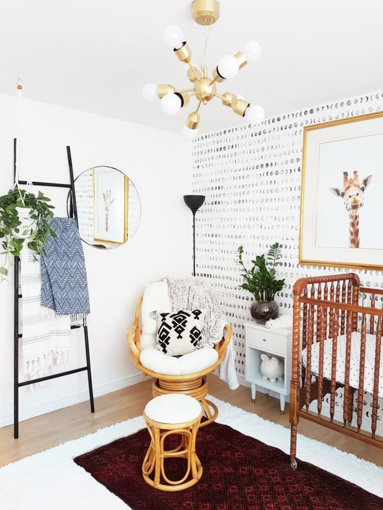 A Bright and Modern Boho Nursery