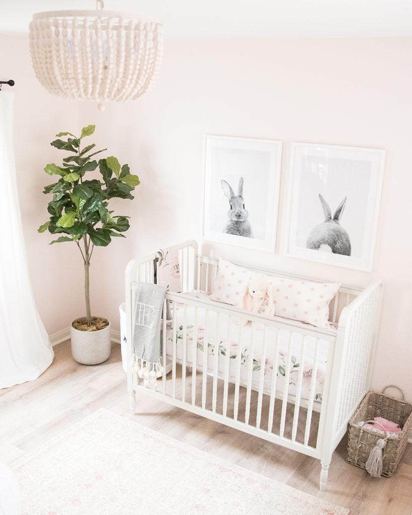 Bunny-Inspired Nursery