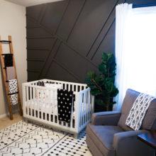 photo of Monochrome Modern Nursery