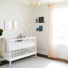 photo of Airy Baby Girl Nursery