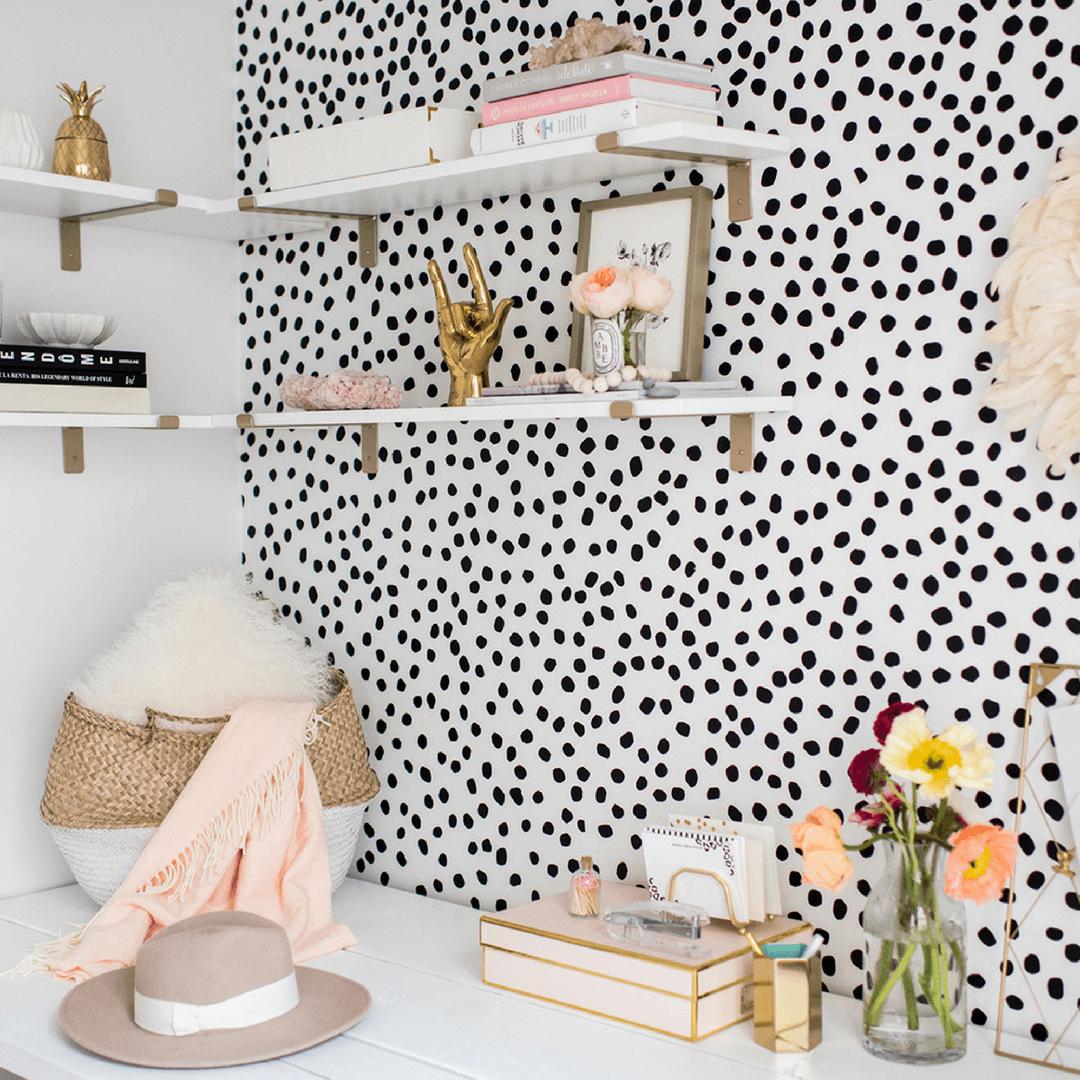 Irregular Dots Wall Decals