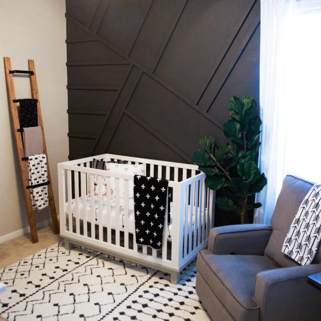Monochrome Modern Nursery