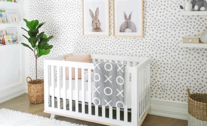 Bunny Print Nursery