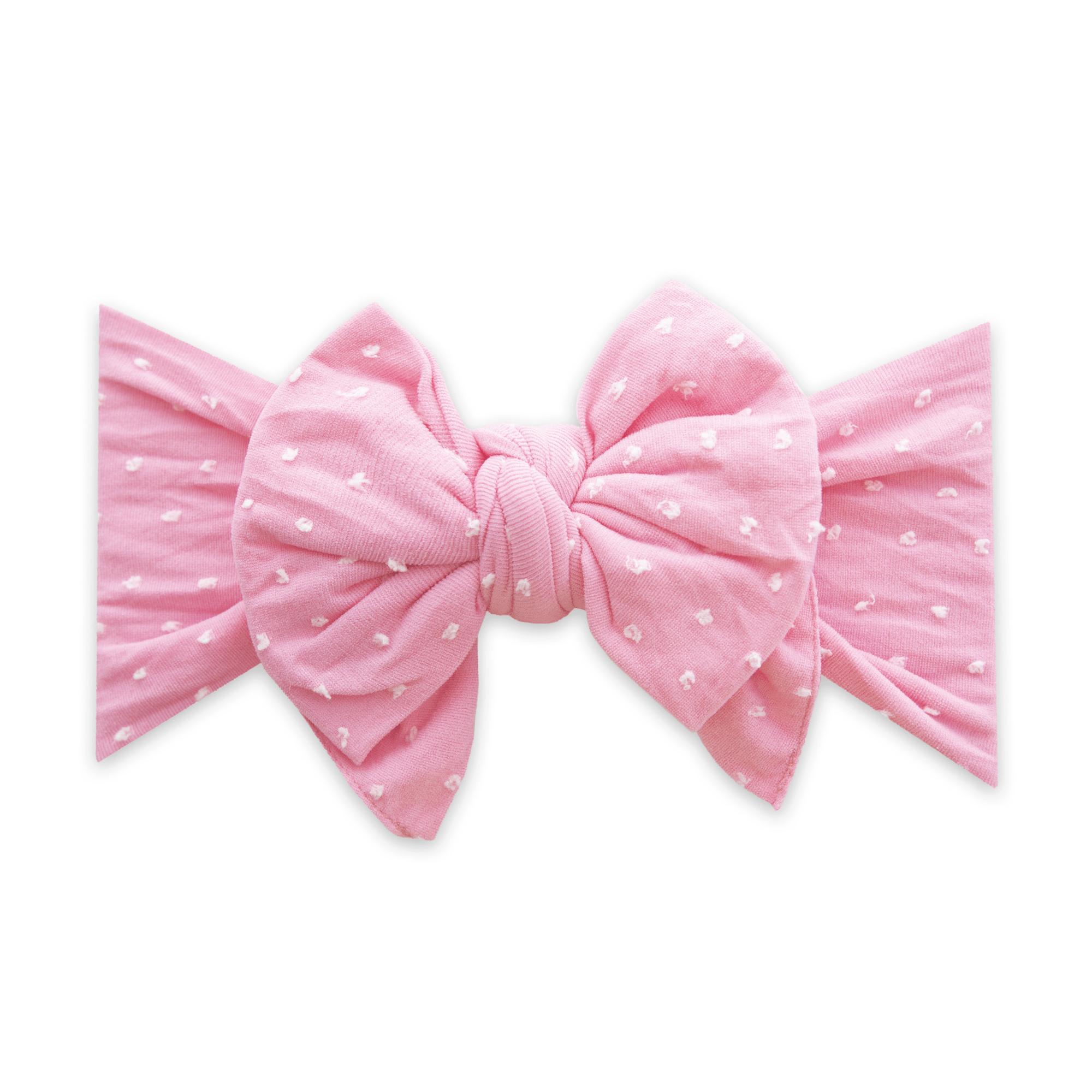 Bubblegum Dot Hair Bow