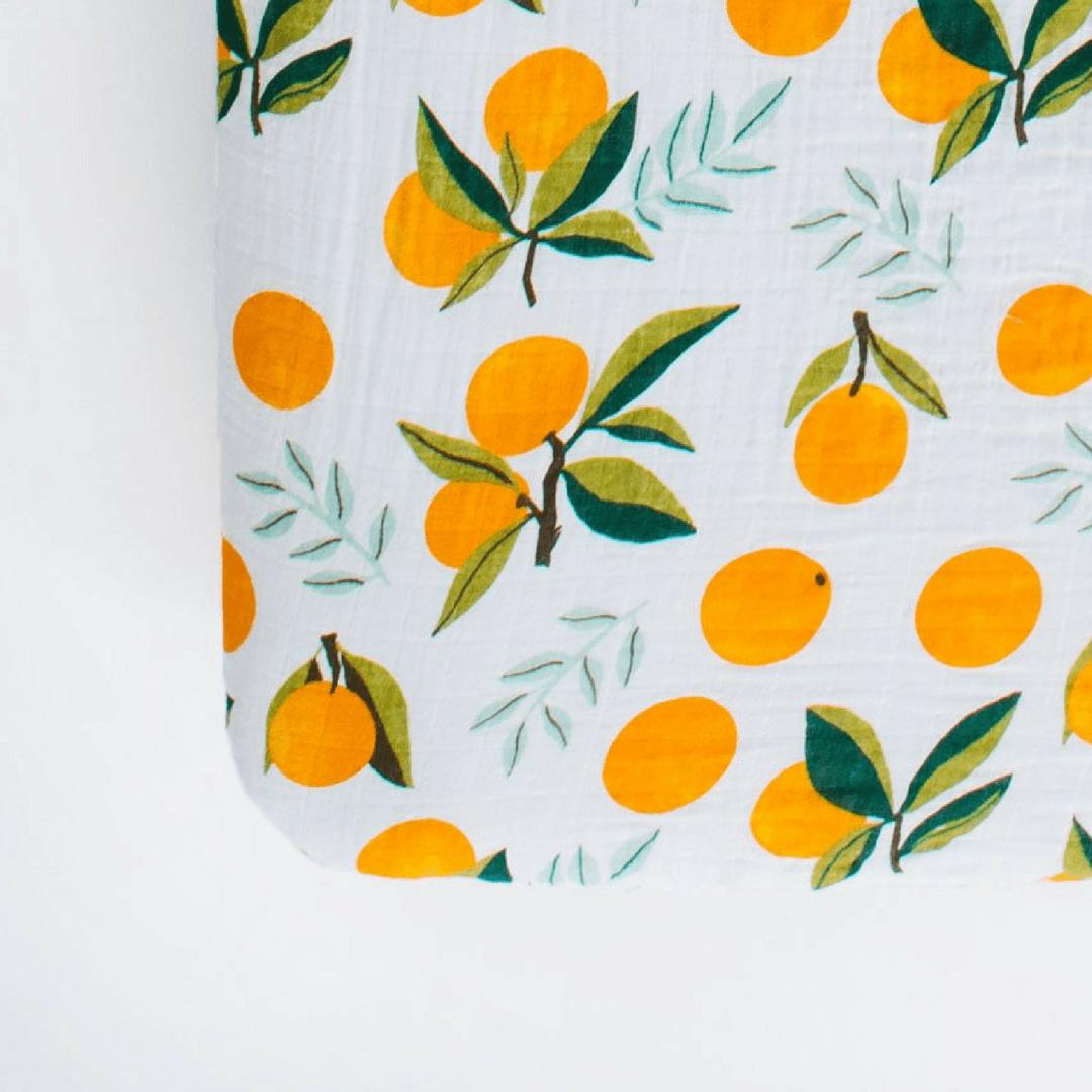 Clementine Crib Sheet
