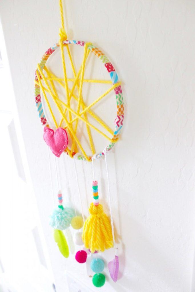 DIY Whimsical Wall Hanging