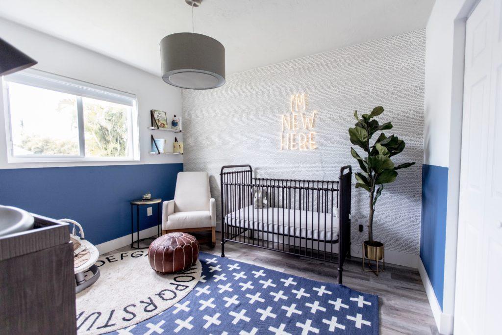 Boho Meets Mid Century Baby Boy Nursery Project Nursery