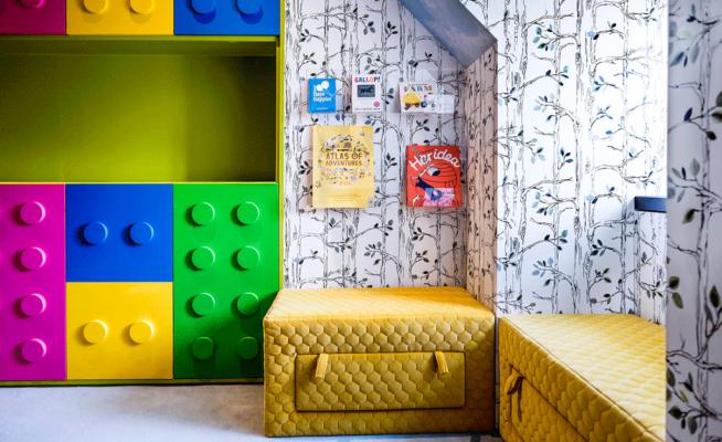 Lego Themed Playroom