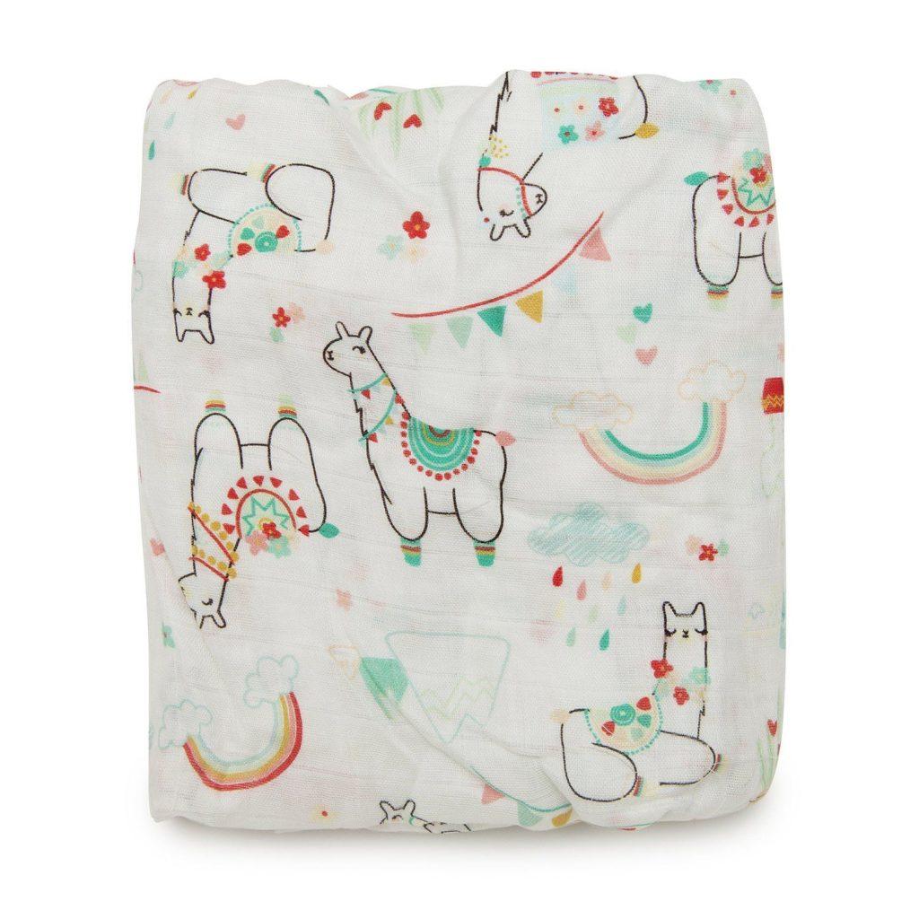 Llama Crib Sheet