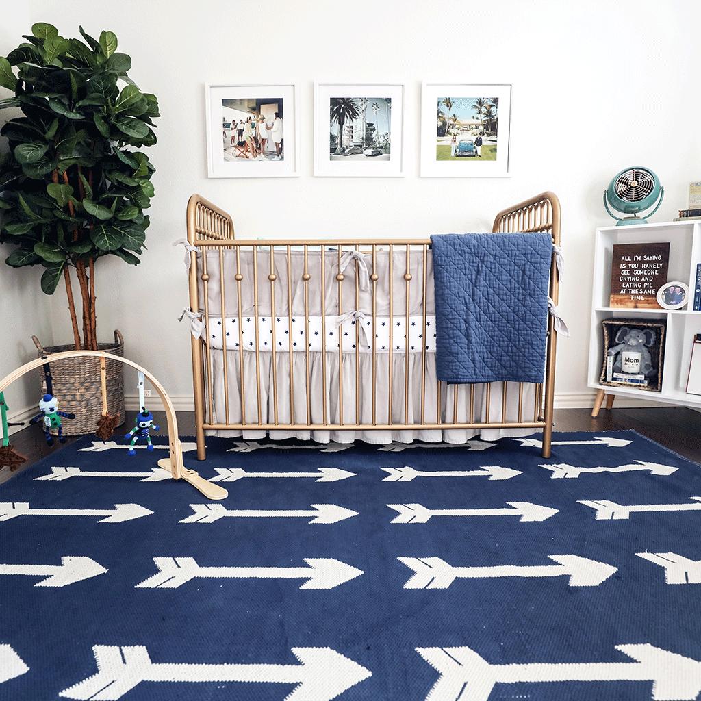 Slim Aarons Inspired Nursery