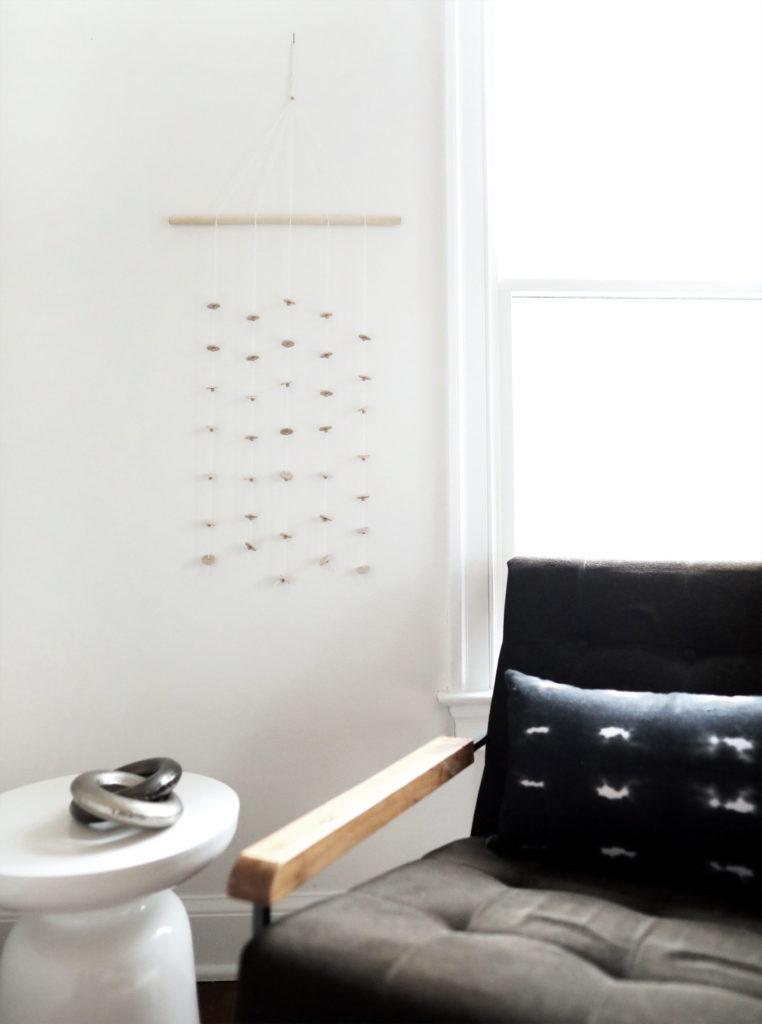 Wood Disk Wall Hanging