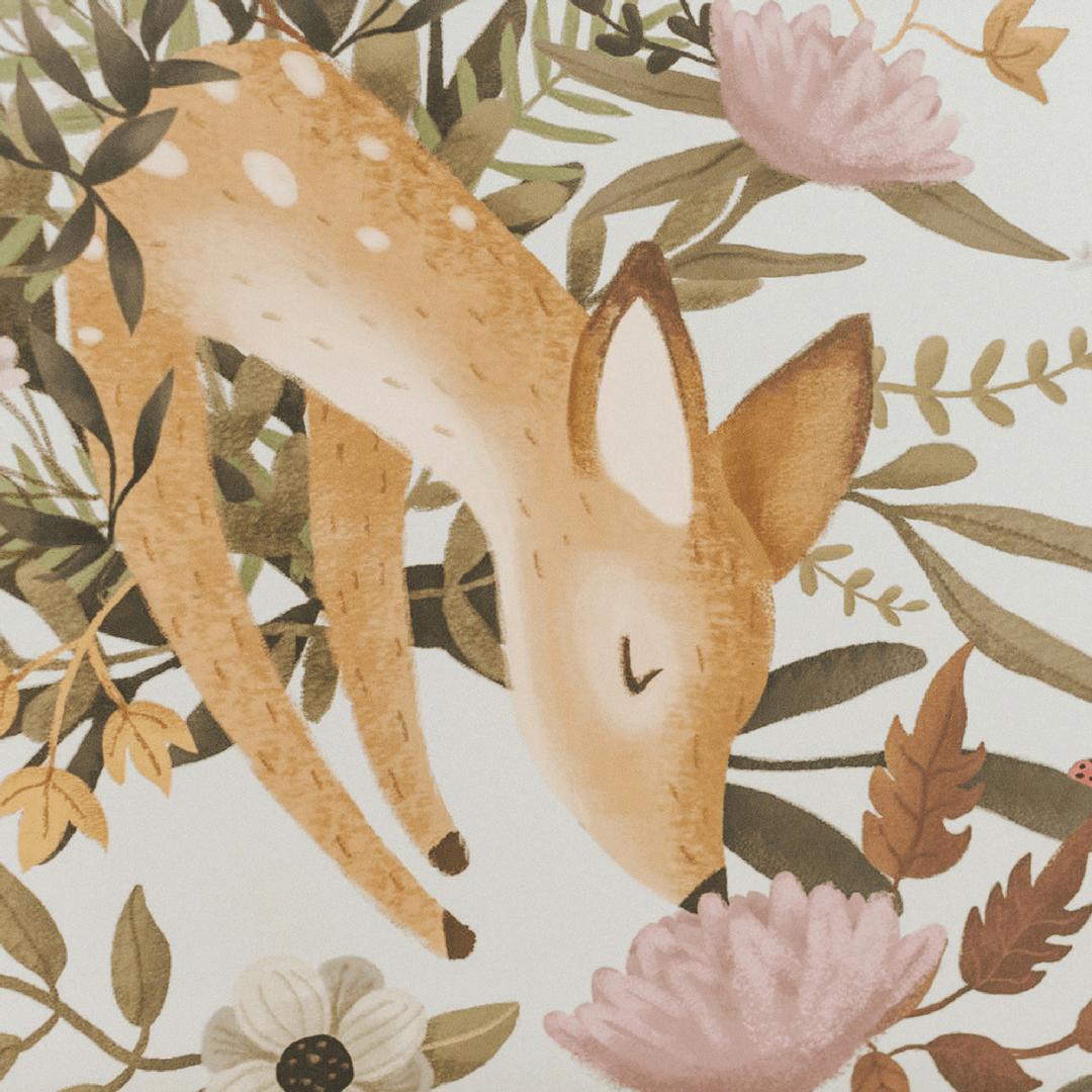 Oh Deer Wall Mural
