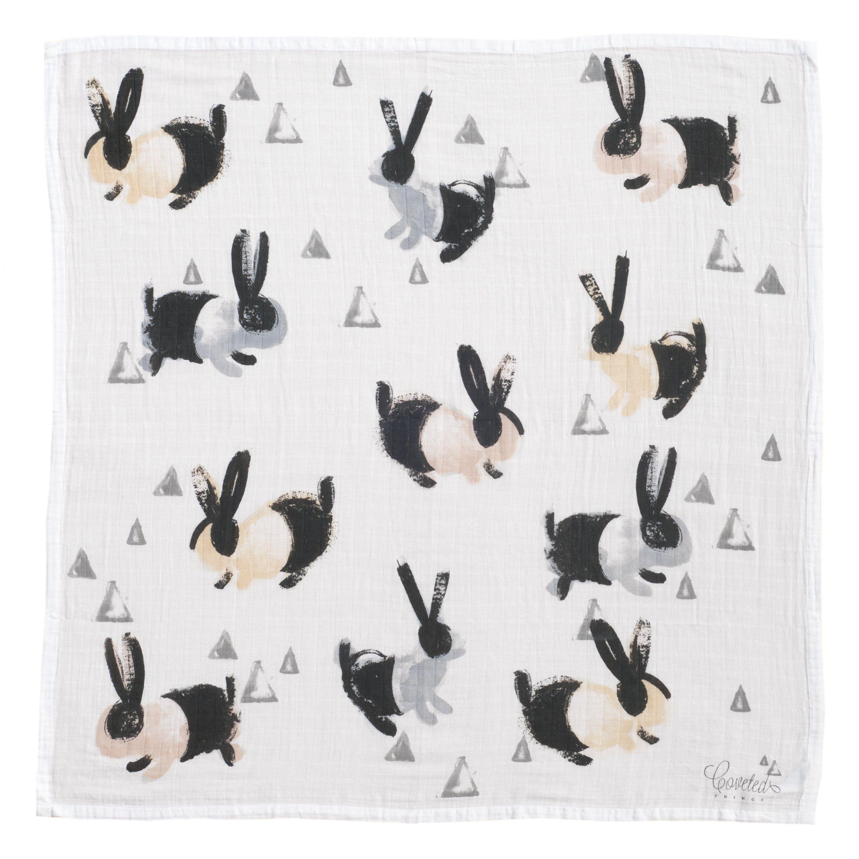 Bunny Organic Swaddle Blanket