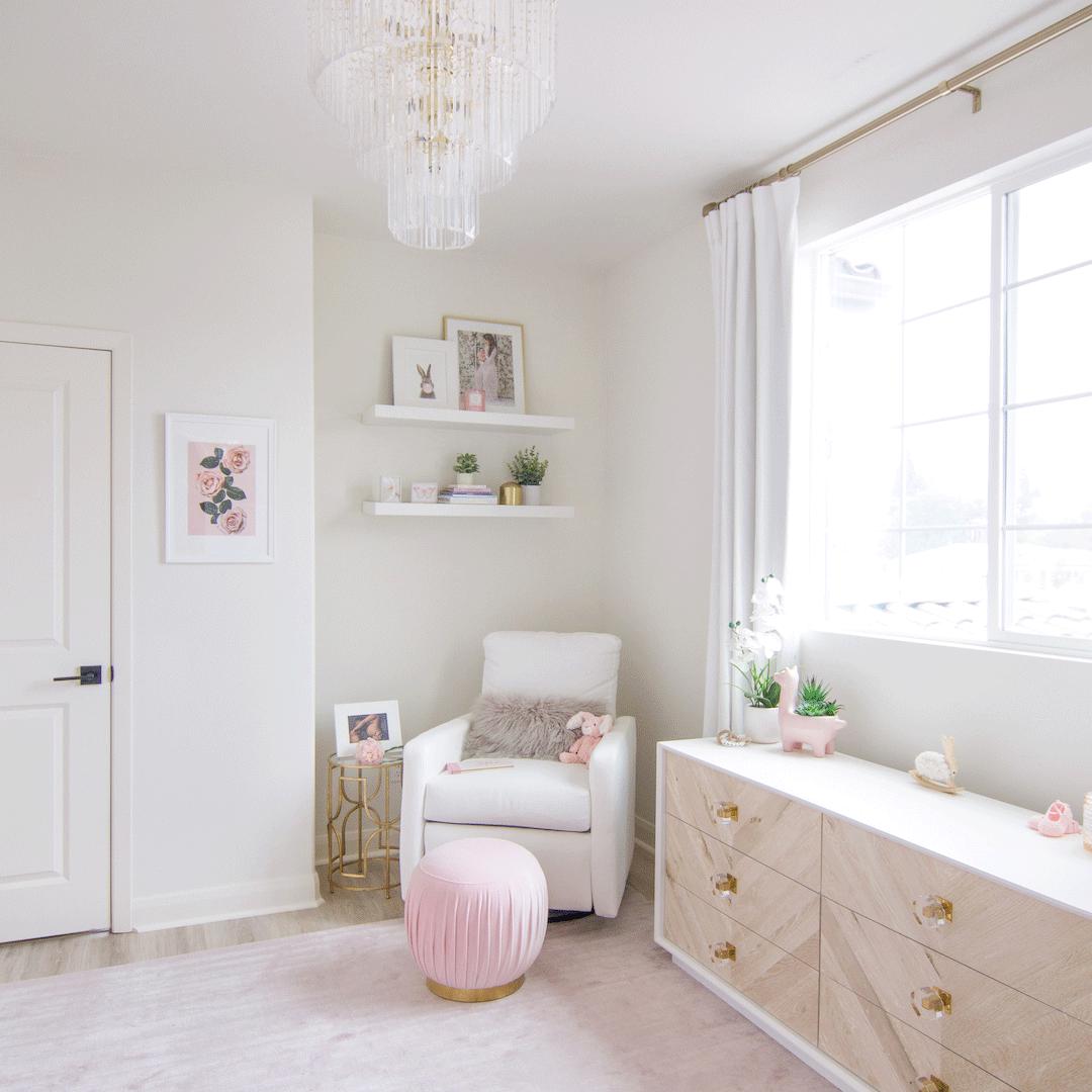Melissa Molinaro's Blush Nursery