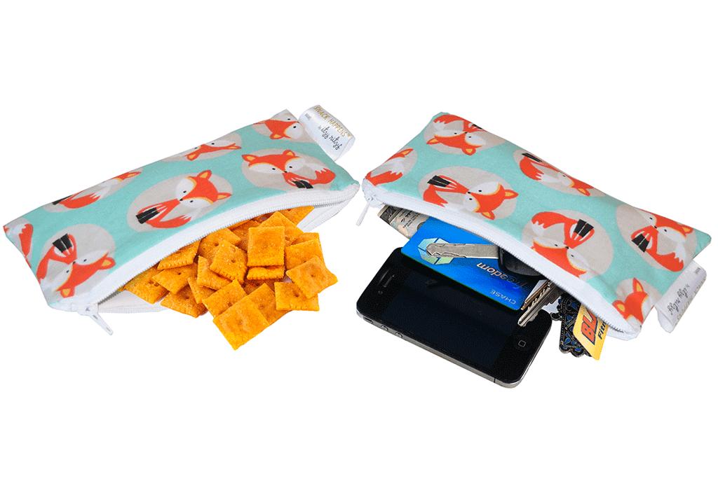 Fox Mini Snack Bags