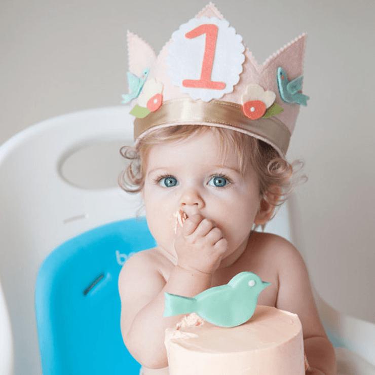 First Birthday Bird Crown