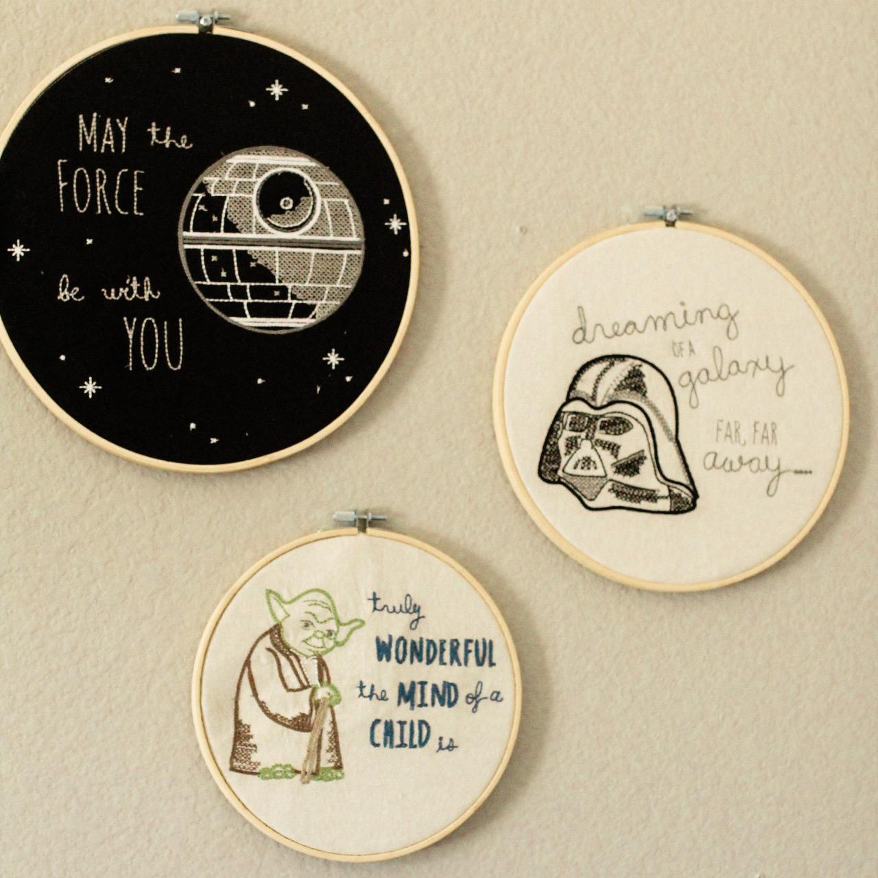 Hanks Star Wars Nursery