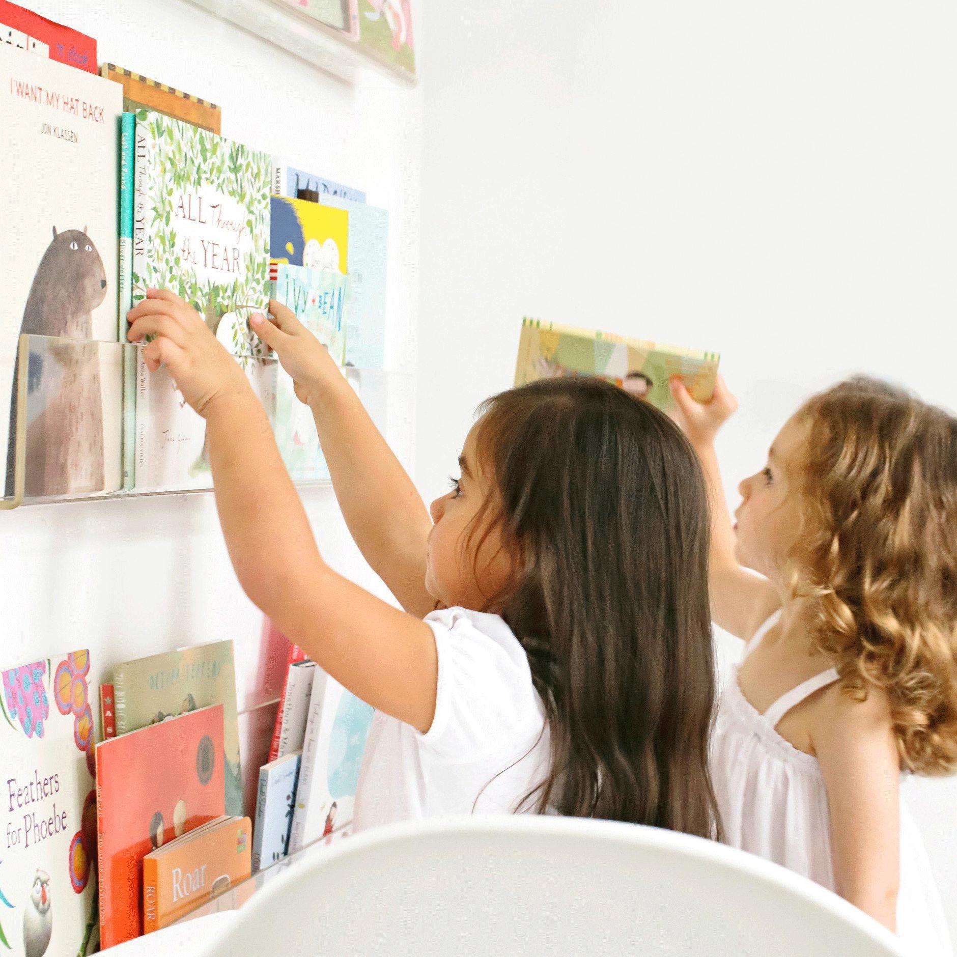 Acrylic Bookshelf