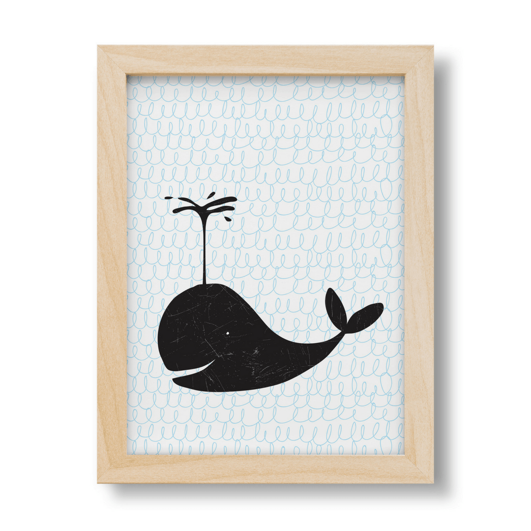 Ben the Whale Print