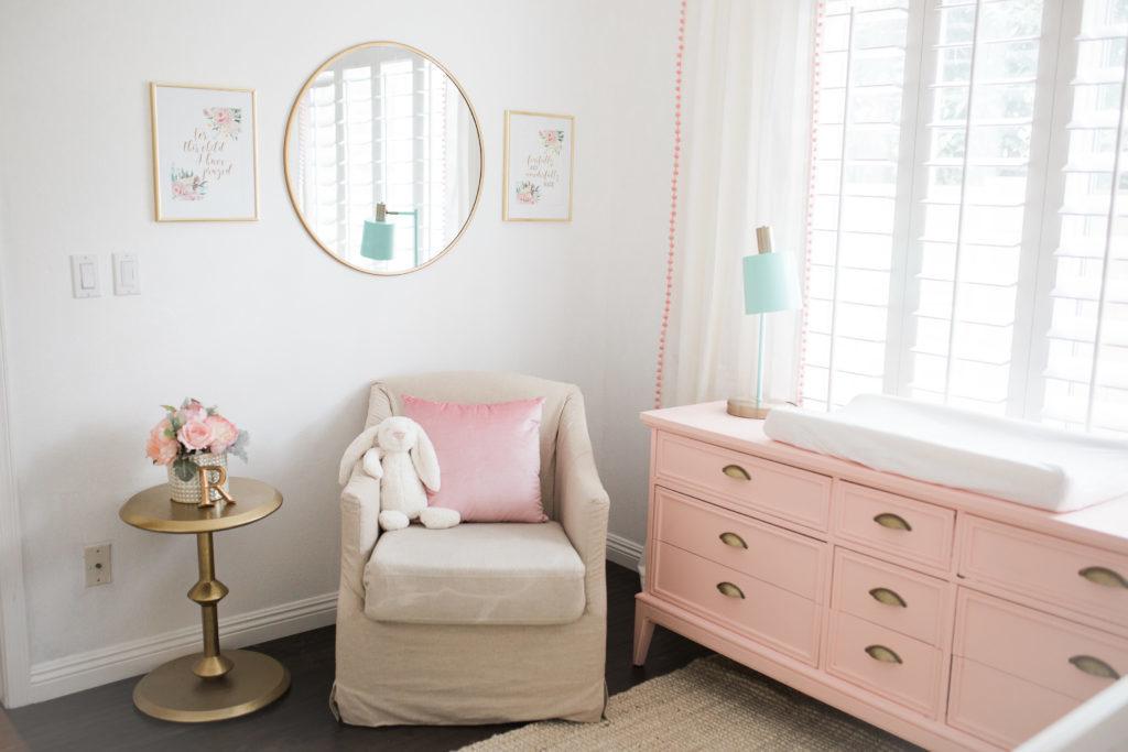 The Posh Home Blush Nursery Reveal