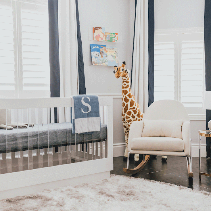 Modern Boy Nursery Reveal