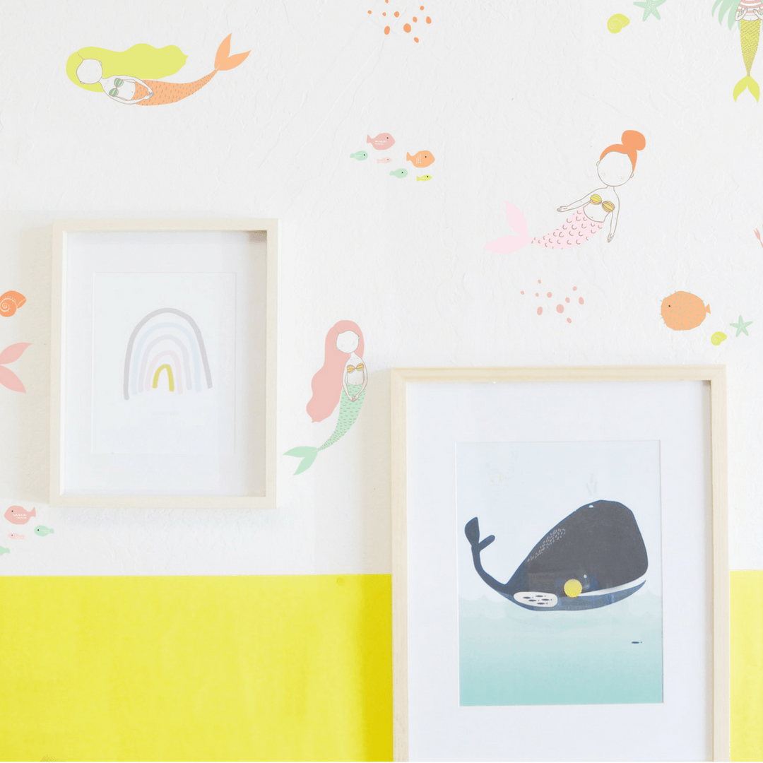 Sweet Mermaids Wall Decals