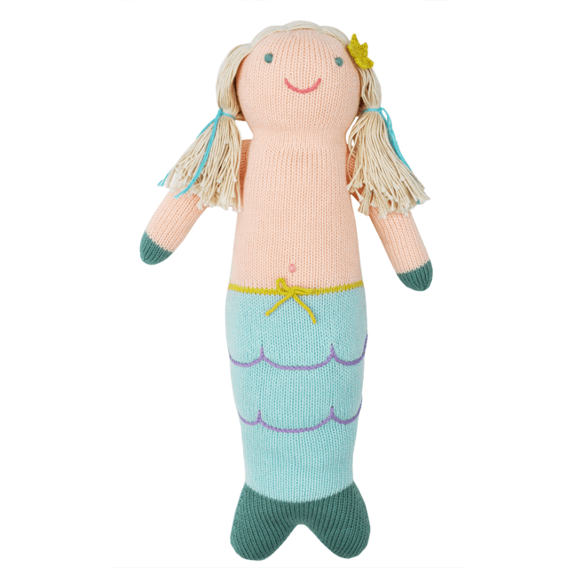 Mermaid Knit Doll