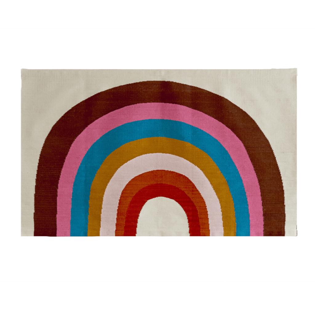 Bold Rainbow Rug