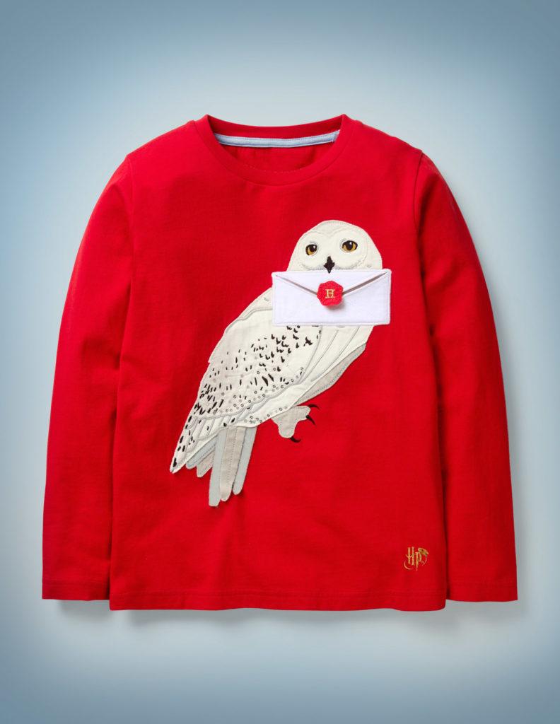 Hedwig Appliqué T-Shirt