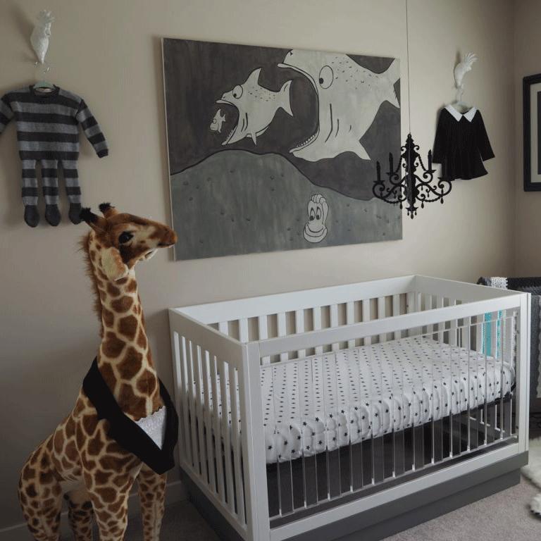 Addams Family Nursery