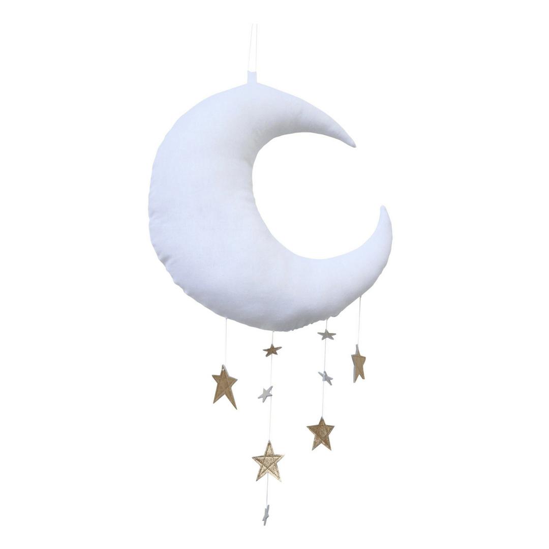 Luxe Cascading Moon Mobile