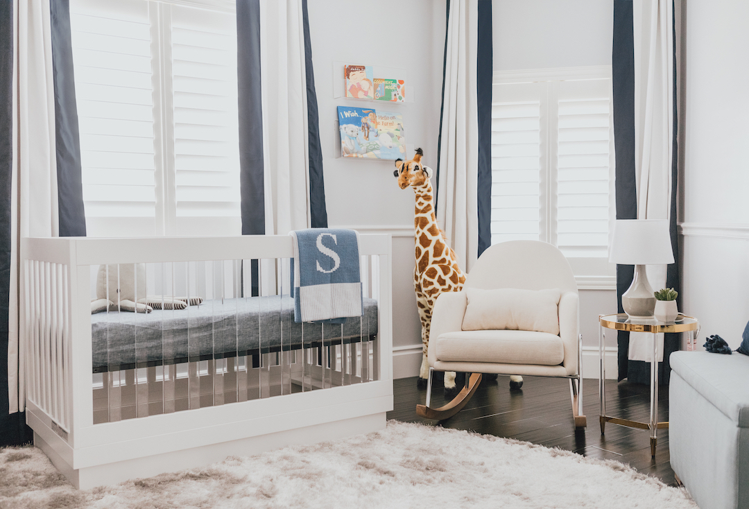 Navy Modern Boy's Nursery