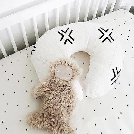 Mud Cloth Nursing Pillow Cover