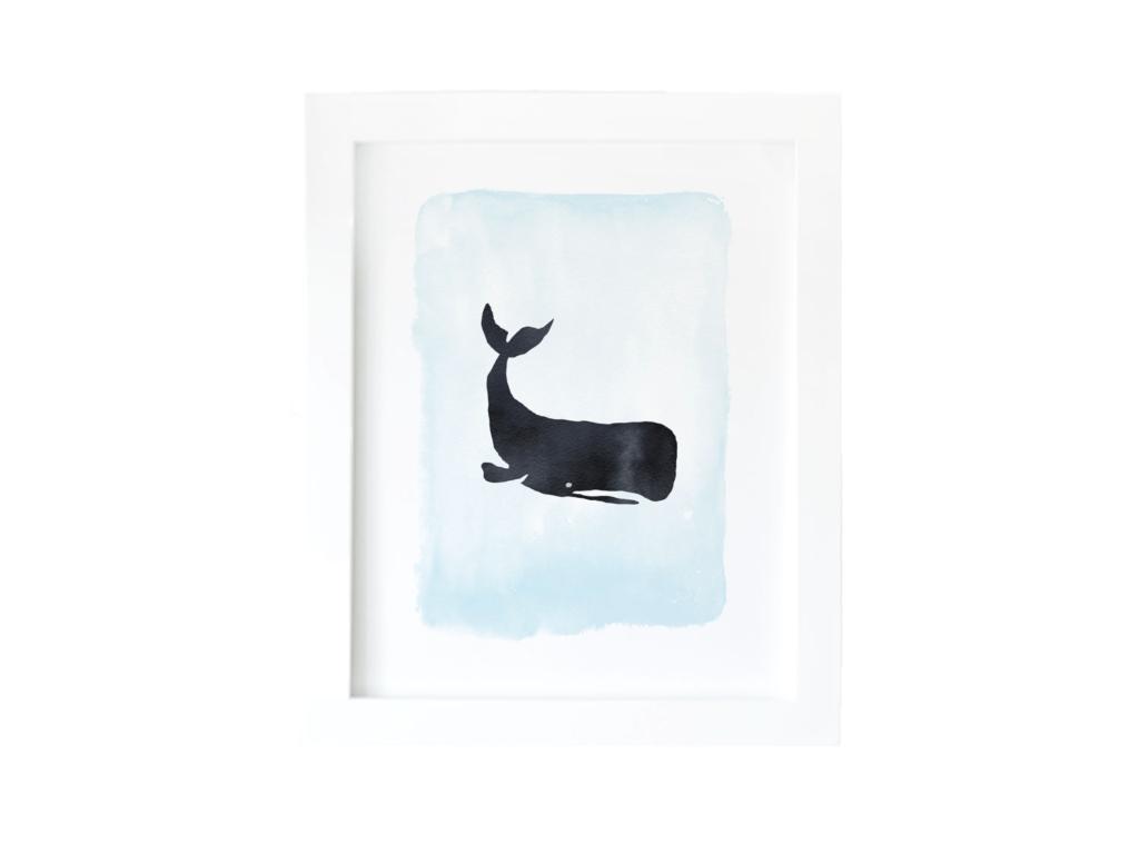 Whale Free Printable Art