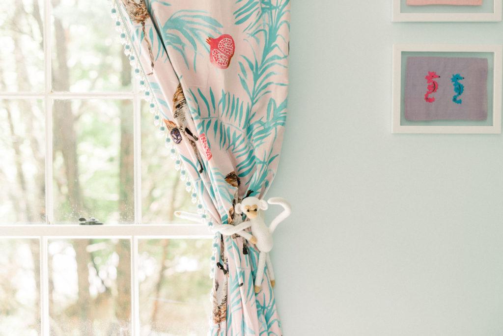 Monkey Curtain Tie