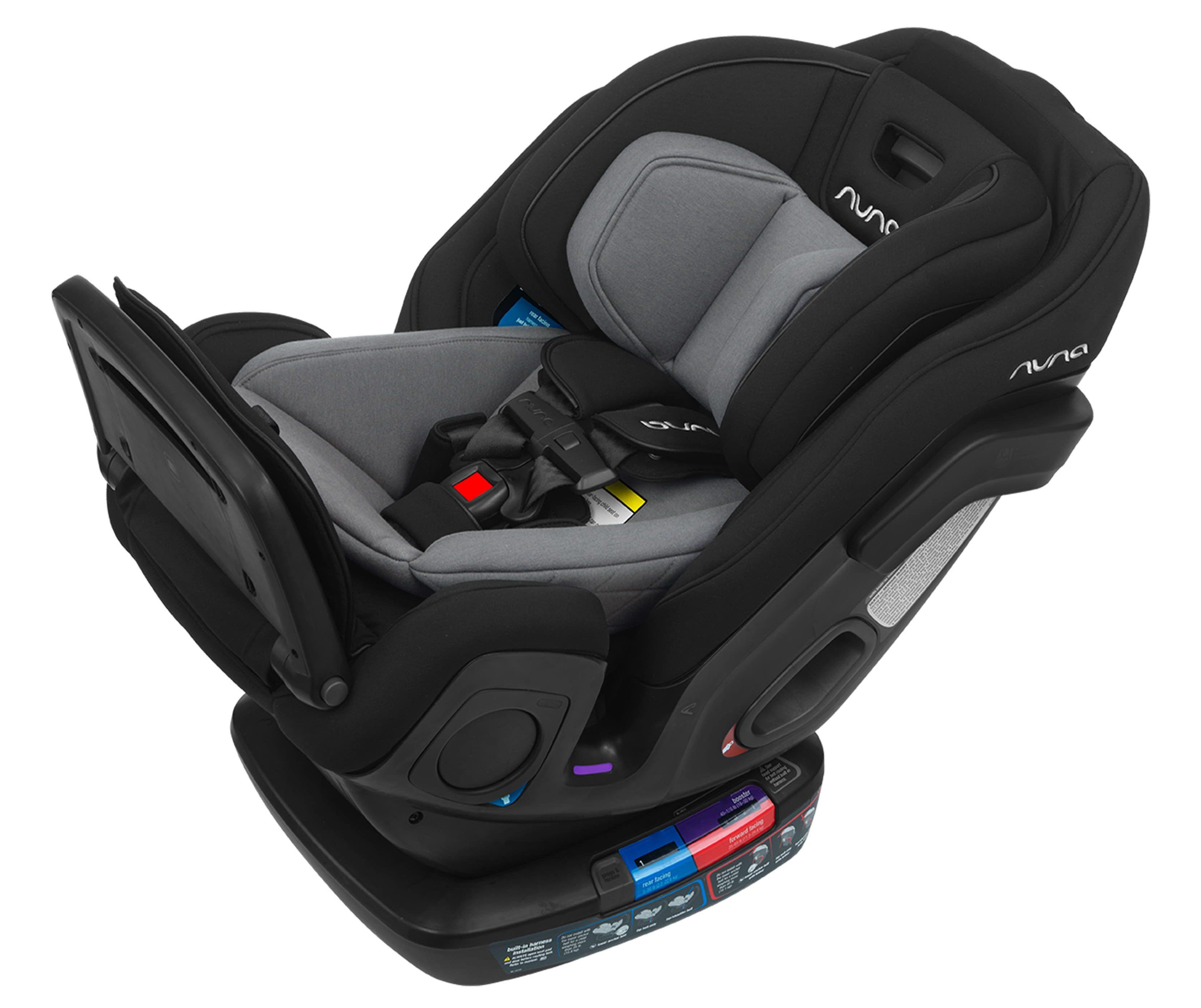 Nuna Exec Convertible Car Seat with Merino Wool Infant Insert