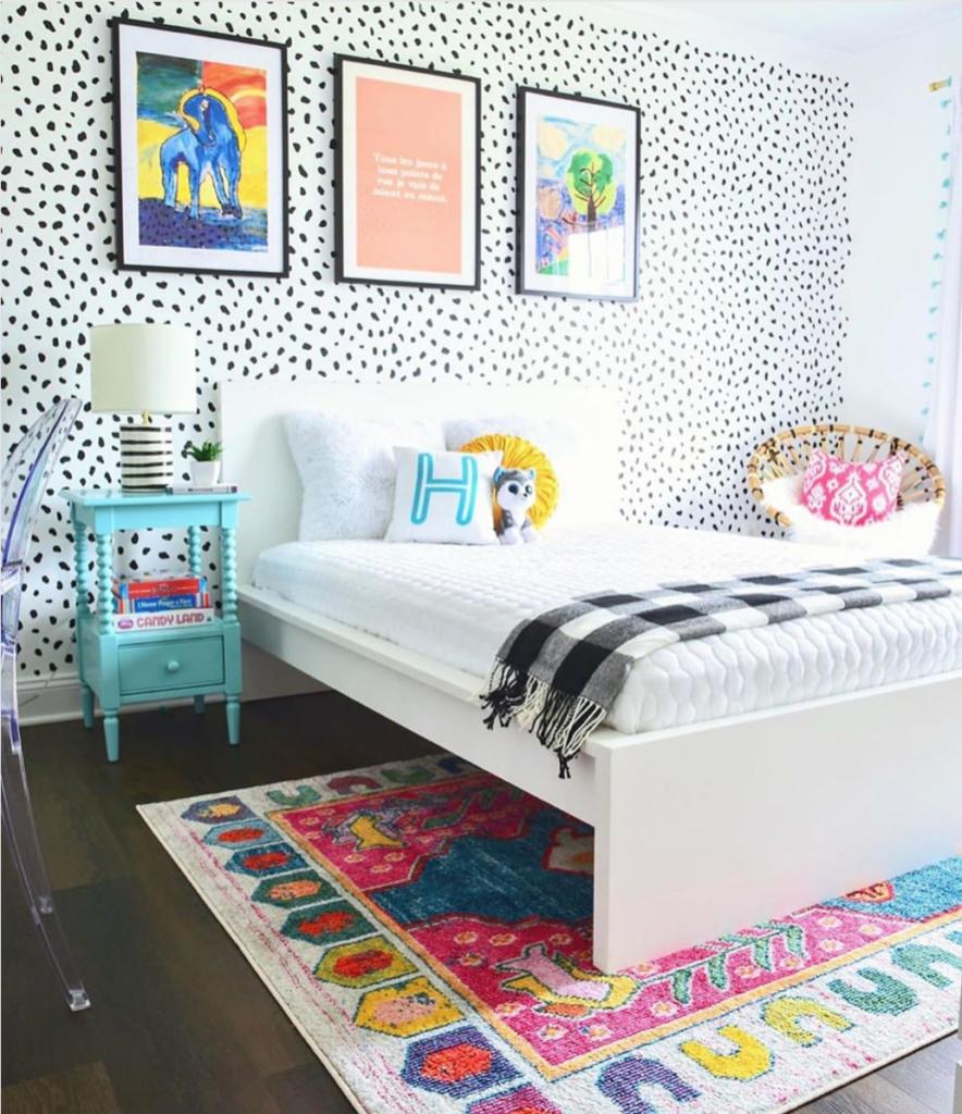 Colorful Big Kid Room Design