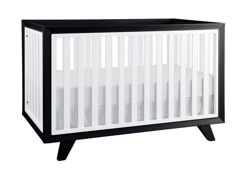 Wooster Crib in Noir + Blanc