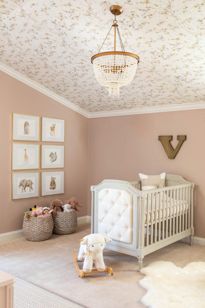 Sweet Amp Sophisticated Baby Girl Nursery Project Nursery