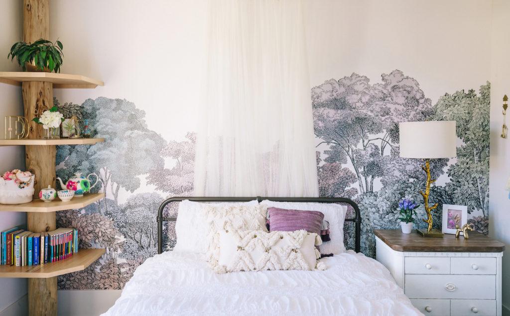 Nature Inspired Girls Room