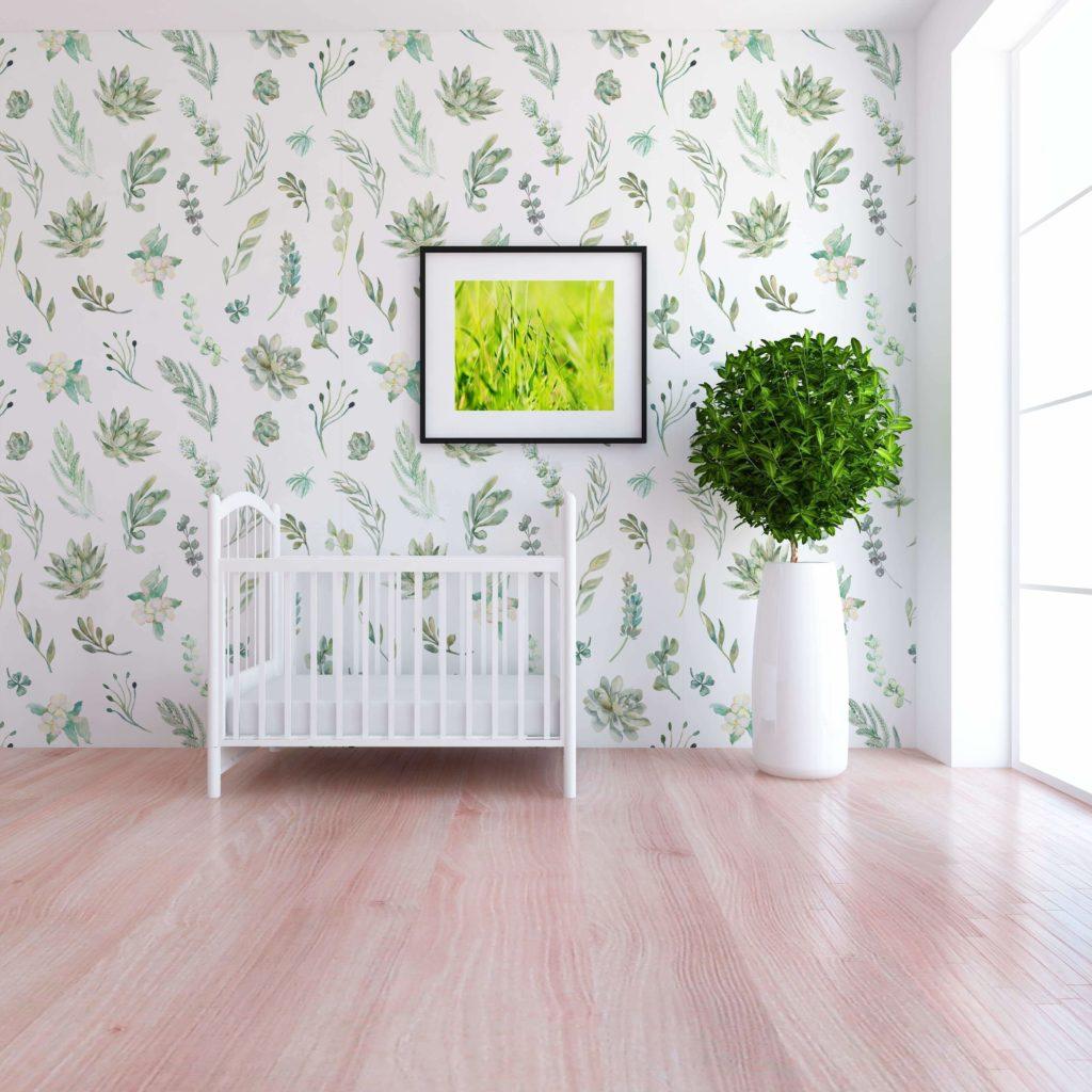 Gideon Botanical Wallpaper