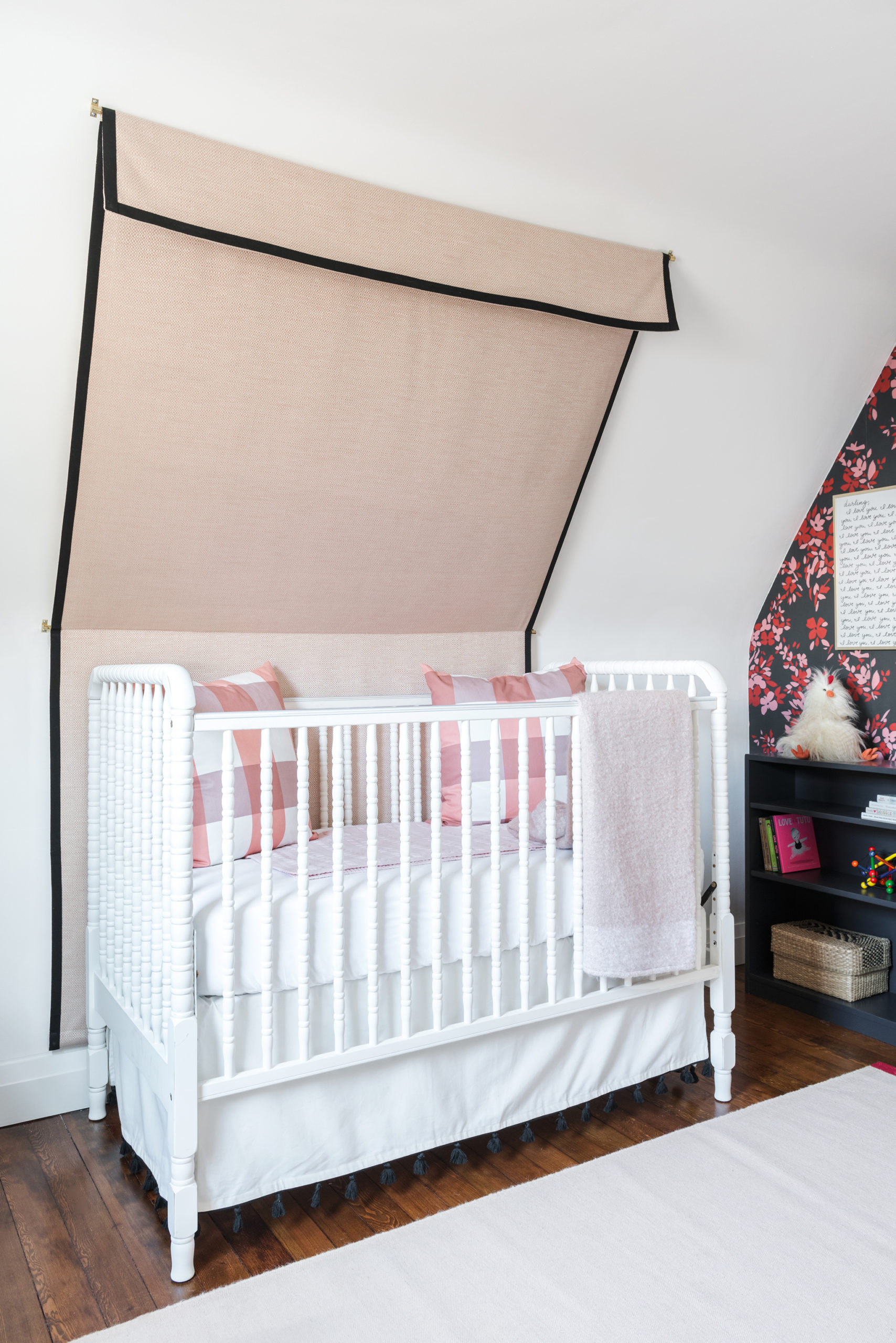 Jenny Lind Style Crib with Canopy