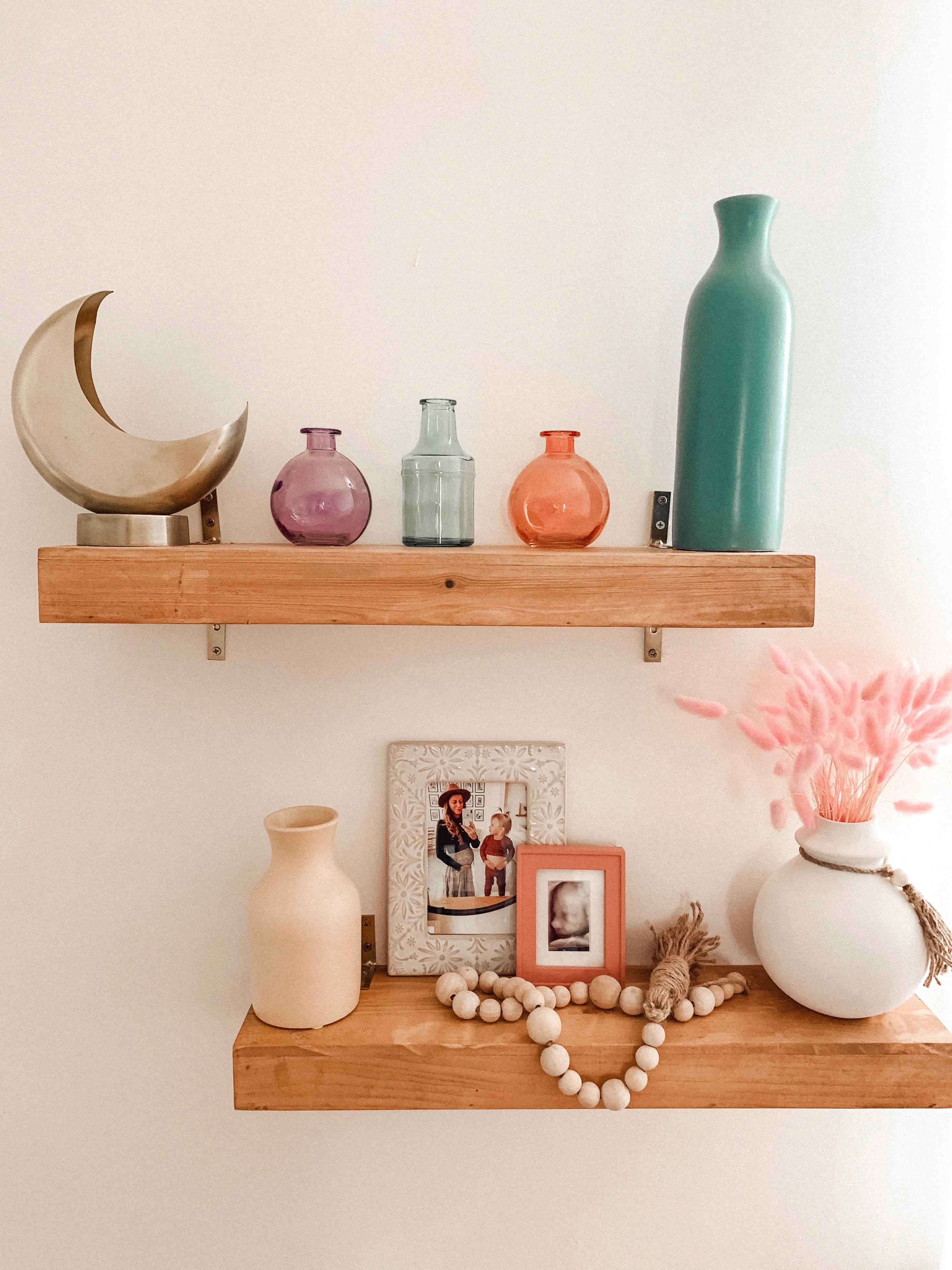 Nursery Floating Wall Shelves
