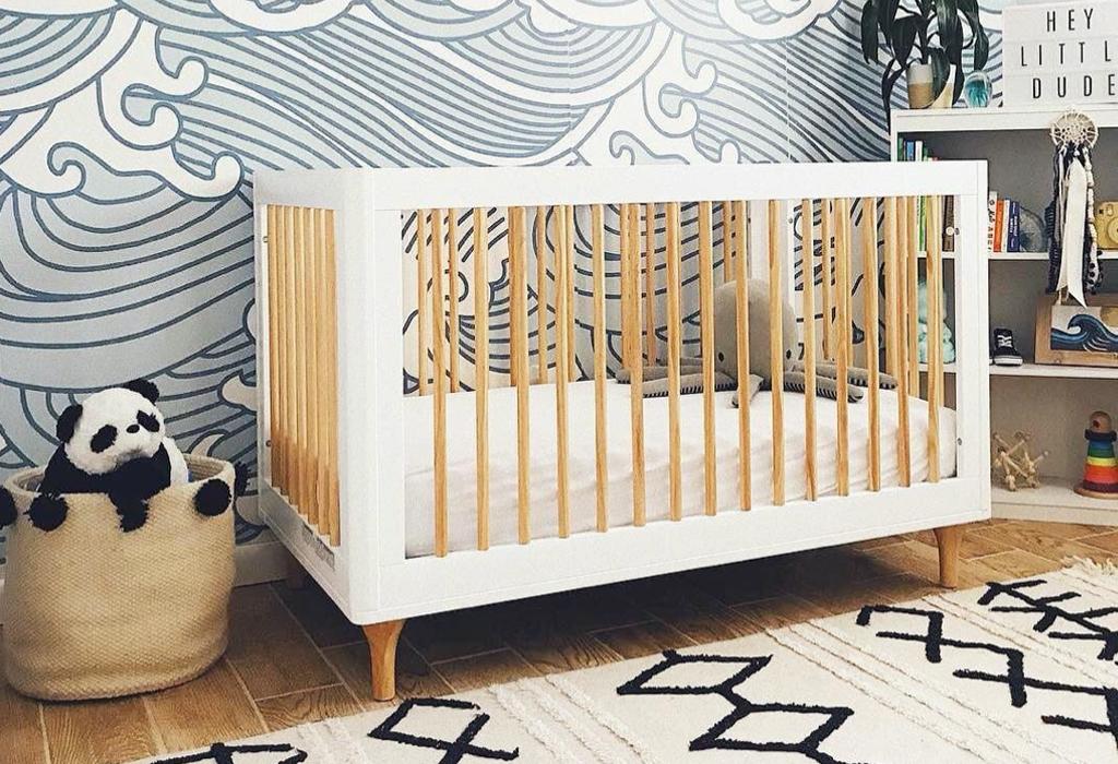 14 Beach Inspired Ideas For The Nursery, Beach Baby Crib Bedding