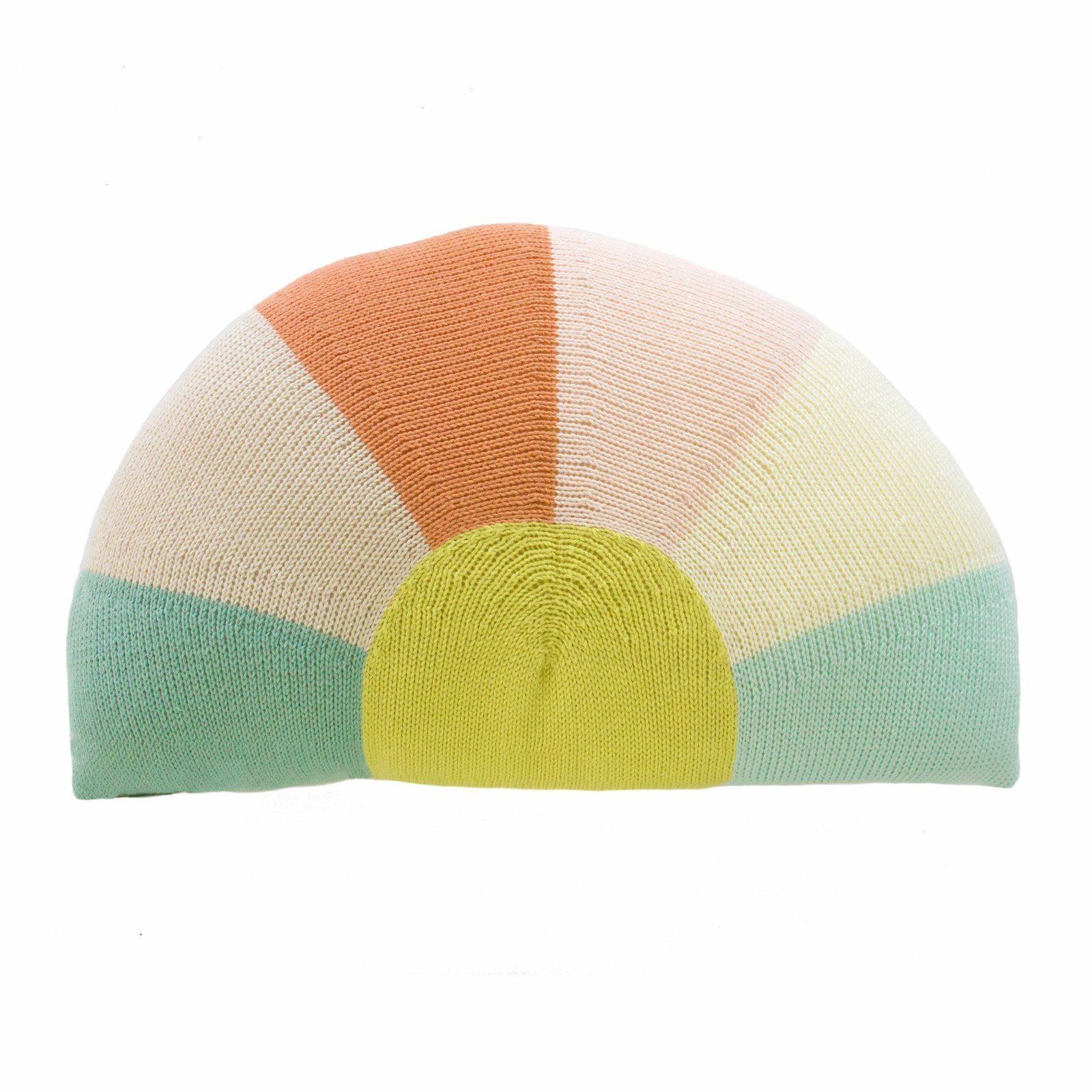 Knit Sunrise Pillow