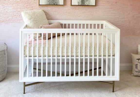 Campaign Style Crib