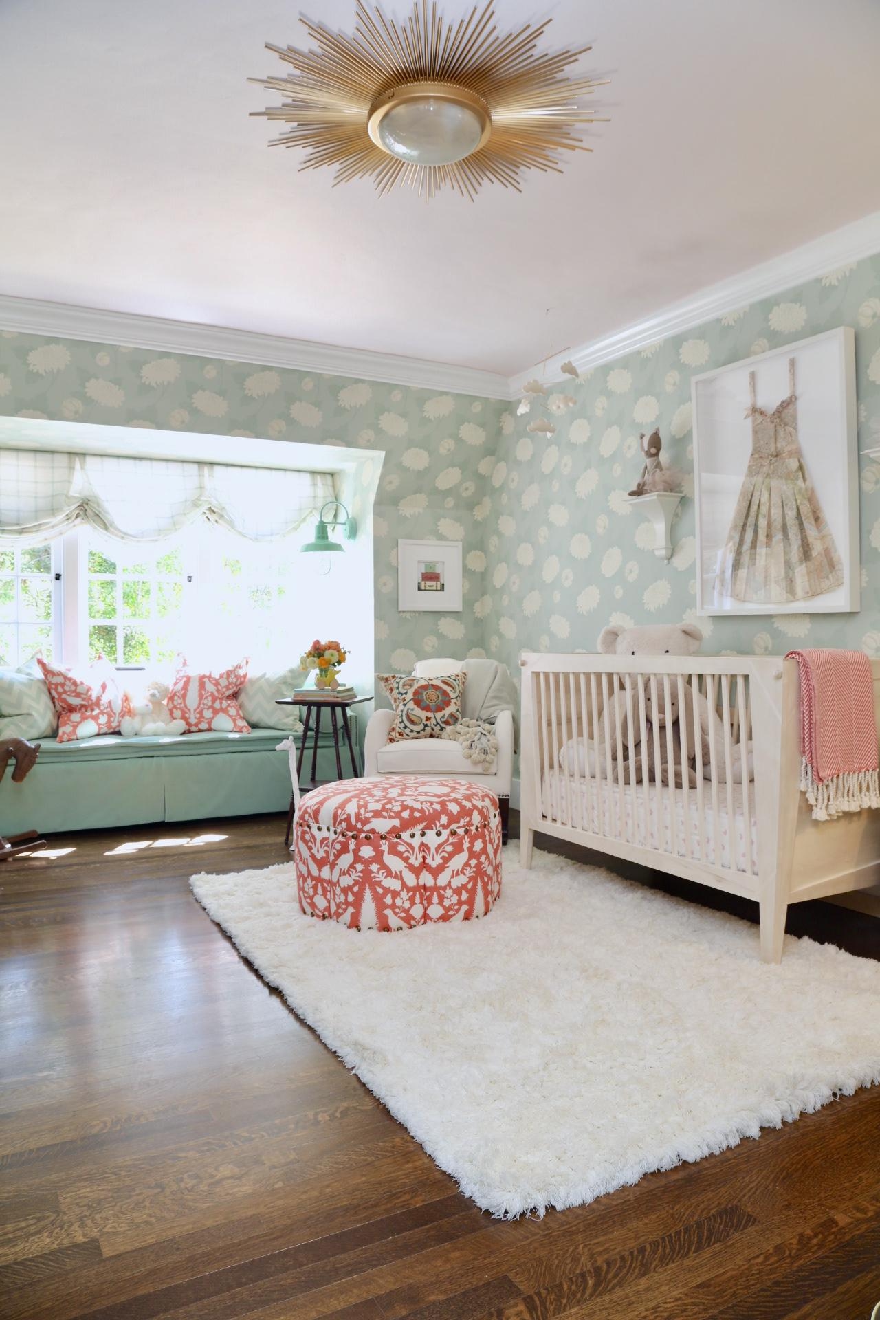 Girl Showcase Nursery Design in Pasadena Showcase House of Design