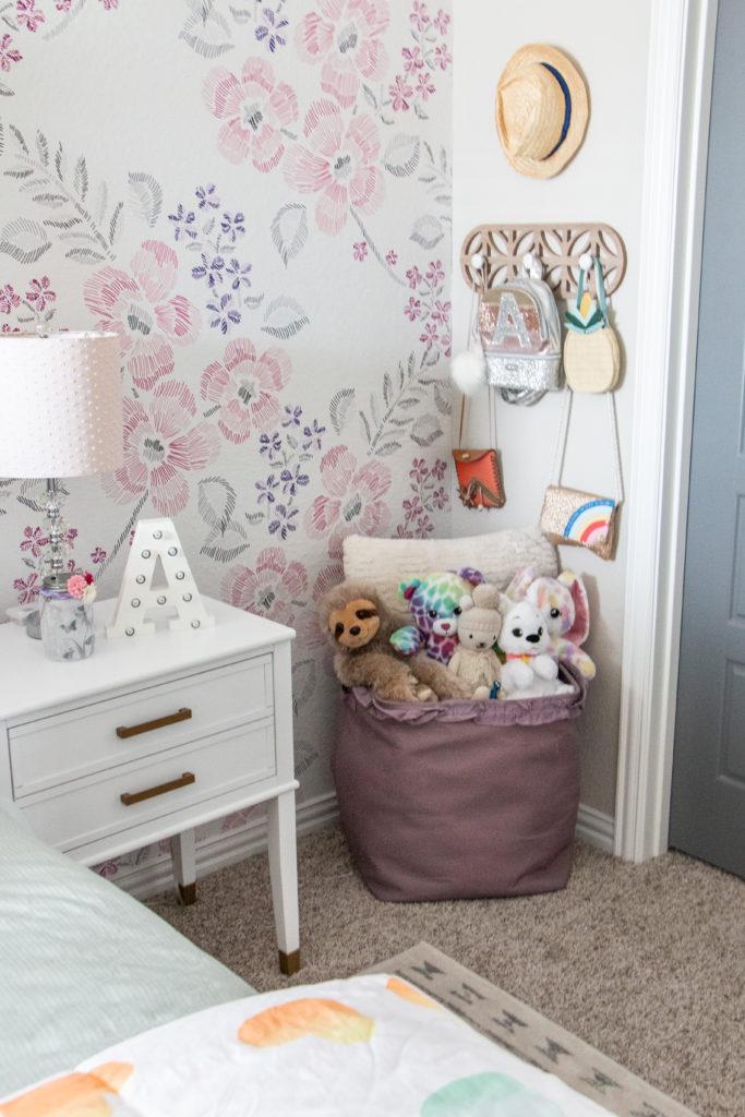 Girls Room Storage